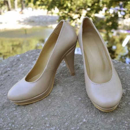 "Туфли-лодочки ""Светлая Одри"""