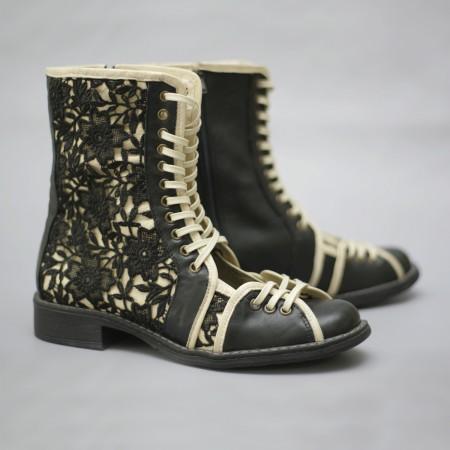 """Женские ботинки коллекция """"Облачная ночь"""""""