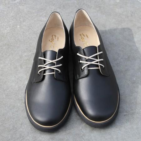 Женские туфли-дерби «Музыка рояля»