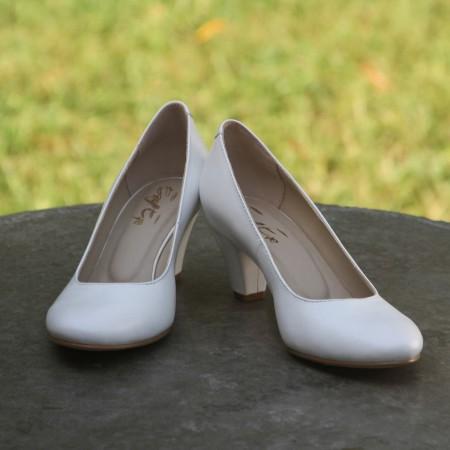 """Свадебные туфли """"Белоснежка"""""""