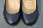 Классические женские туфли «Мэри Джейн» на широком каблуке
