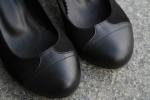 """Женские туфли-лодочки """"Черная чайка"""""""