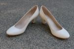 """Свадебные туфли """"Слоновая кость"""""""